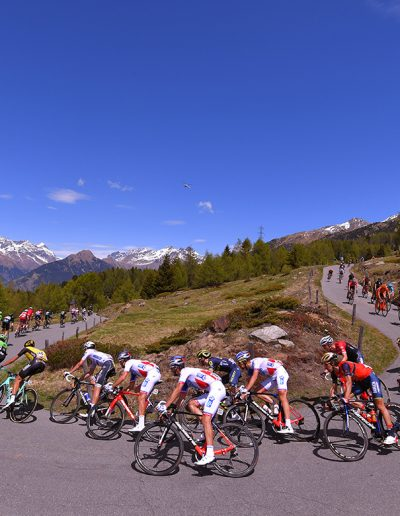 Giro d'Italia 2017, stage 16: Switchback